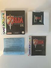 RARE NEW Nintendo Game boy Gameboy ZELDA LINK'S AWAKENING DX Boxed BOITE OVP FAH