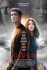 The Giver (2014) Movie Poster (24x36) - Brenton Thwaites, Odeya Rush, Streep NEW