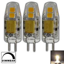 3x G4 LED 1,5 Watt 12V AC/DC warmweiß dimmbar A++ Lampe Leuchtmittel Leuchte