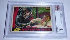 1962 Mars Attacks Topps Beast & The Beauty Card #17 BVG 6 Like PSA BGS Alien