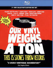 OUR VINYL WEIGHS A TON This Is Stones Throw Records BLU RAY / CD New! Sealed!