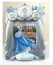Disney Parks Cinderella Coach Glass Slipper 4 x 6 Photo Frame NEW