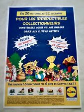 🛑Collecteur COMPLET 🛑Astérix LIDL 12 vignettes village gaulois Octobre 2021