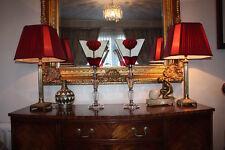 Lámparas par de lámparas de cristal con Cristal Art Deco Estilo Tiffany luz indirecta Tonos