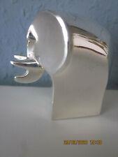 Elefant Figur Dansk Design Japan Design Gunnar Cyrén versilbert midcentury