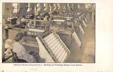 Gloucester New Jersey Welsbach Factory Modeling Mantles Antique Postcard K32929