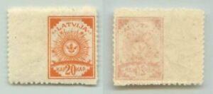 Latvia 🇱🇻 1920 SC 78 MNH missing perforation . f3053