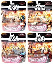 Star Wars Unleashed Battle of Utapau Set of 4 Battle Packs Mini Figure Sets!