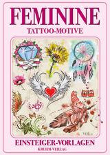 Feminine Tattoo Motive dezent Einsteiger Flashbook Vorlagen Buch Sketchbook