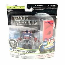 NEW Transformers Optimus Prime 3D Glasses Movie 3 Dark DOTM Action Figure Toy
