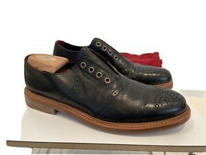 Cole, Rood Haan Co. Hand Polished Black Leather Oxfords size 11 Medium
