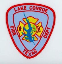 LAKE CONROE TEXAS TX Fire Police DPS Patch PINE TREES