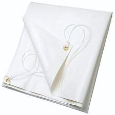 Telo Telone Copertura 100% PVC indistruttibile 3x5mt occhiellato bianco