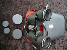 Boots Admiral III Binoculars 10 x 50mm Fully Coated Optics + Case + Straps USED
