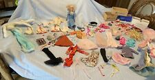 Lot Of Vintage Barbie clothing accessories Ballerina Barbie some TLC Lots Of 60s
