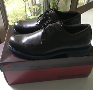Red Wings Brett Brown Oxford Shoes Size 11.5D