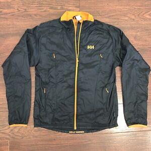 Helly Hansen Lightweight Jacket M H2 Flow Vented Ski Snowboard Shell Packable