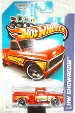 Hot Wheels 2013 HW Hot Trucks Series Custom '69 Chevy P/UP red,black int,ex.card
