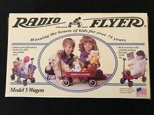 12 Inch, Radio Flyer Model 5 Wagon - New, in the unopened box