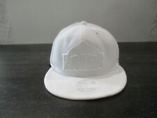 New Era Denver Nuggets Hat Cap Fitted Size 7 5/8 White NBA Basketball Mens