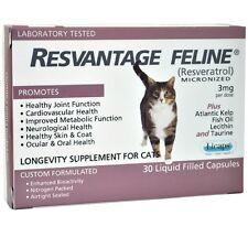 Resvantage Feline - Resveratrol - The Longevity Supplement for Cats - 30 Capsule
