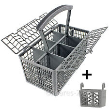 UNIVERSAL Dishwasher Cutlery Basket Cage + Powerball Tablet Detergent Holder