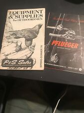 Two Vintage Outdoors Hunting Fishing Catalogs Y726