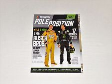 NASCAR Pole Position Racing Magazine March 2017 Issue Kyle & Kurt Busch Bros.