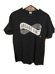 Arcade Fire 2017 Tour T Shirt Band Tee Size M Indie Rock Tour