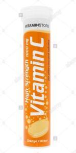Effervescent Orange drink with  Vitamin C for Immune Support