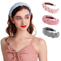 Women's Braided Headband Hairband Hairband Alice Hair Band Hoop Accessories