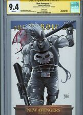 ARES Sketch cover art by ALESSANDRO MICELLI CGC SS 9.4 Marvel Avengers Thor