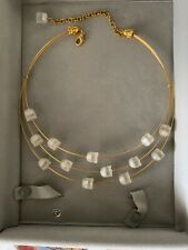 Lalique Necklace Chocker Adjustable Sizing Limited Edition
