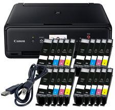 Set Canon Pixma TS5050 DRUCKER SCANNER KOPIERER WLAN + 20x XL TINTE + USB