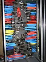 Pliers Rack Tool Drawer Storage Organizer Holder Metal Craftsman Toolbox Garage