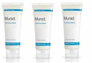 Murad Clarifying Mask Treat/Repair - 1 oz / 30 g each (3 Tubs)