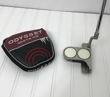 """Odyssey White Hot XG 2-Ball Blade Putter w/Cover Dri-Tac Grip 36.50"""" Right Hand"""