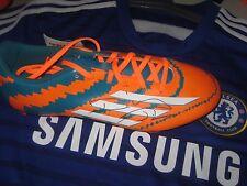 Diego da Silva Costa (Chelsea) signed Adidas Football Boot-Green/orange/white-R