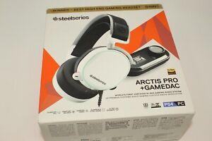 SteelSeries Arctis Pro + GameDAC 61454 Gaming - White
