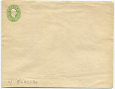 AUSTRIA EMPIRE, POSTAL ENVELOPE 3 KREUZER GREEN, NOT USED          m