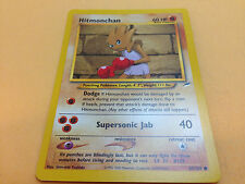 Pokemon TCG - Hitmonchan 69/105 Neo Destiny Unlimited Common Card Mint