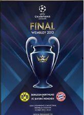WEMBLEY 2013 CHAMPIONS LEAGUE FINALE BAYERN MÜNCHEN DORTMUND FINAL STADIONHEFT