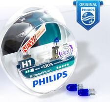 H1 Philips X-treme Vision +130% Halogen bulbs 12258XV+S2 12V 55W P14.5s Blue W5W