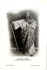 Paul Knüpfer como Sarastro en el papel de la flauta mágica de berlín Archers ópera. 1912
