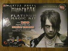 Criss Angel Mindfreak - Platinum Magic Kit - Some Wear & Missing Pieces