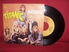 "1973 TITANIC Macumba 7"" NORWAY Prog Psych Hard Rock PORTUGAL PRESS RARE NEARMINT"