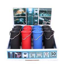 3W Tent Camping Lantern Light Hiking LED Flash / Flashlight Wholesale lot of 12