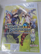 Tales of Symphonia Dawn of the New World wii (NEW)