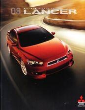 2008 08 Mitsubishi  Lancer original sales brochure MINT