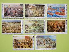 Korea 1982 Historical Paintings War Complete Set/8 MNH Sc#1295-1302
